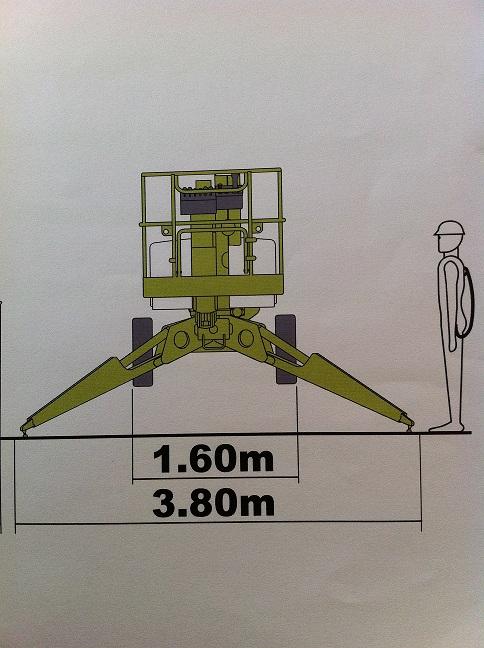 105- AL 15   15 m Arbeitshöhe