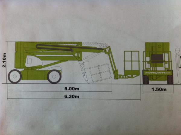 90- TG172   17,20 m Arbeitshöhe