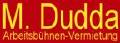 Baumdienst, Transporte und Hubarbeitsbühnen-Vermietung Martin Dudda